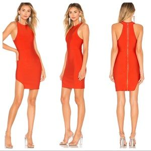 New NBD x NAVEN Stephanie Dress Fitted Red S